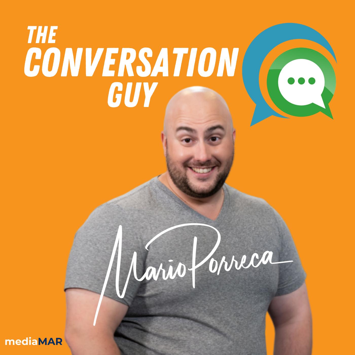 The Conversation Guy show art