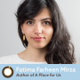 Artwork for Episode 327: A Place for Us Author Fatima Farheen Mirza