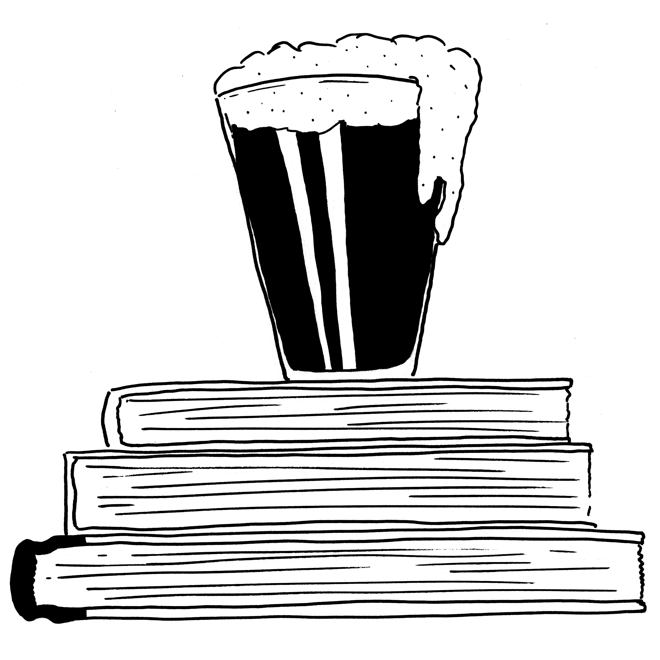 Drunk Booksellers: The Podcast show art