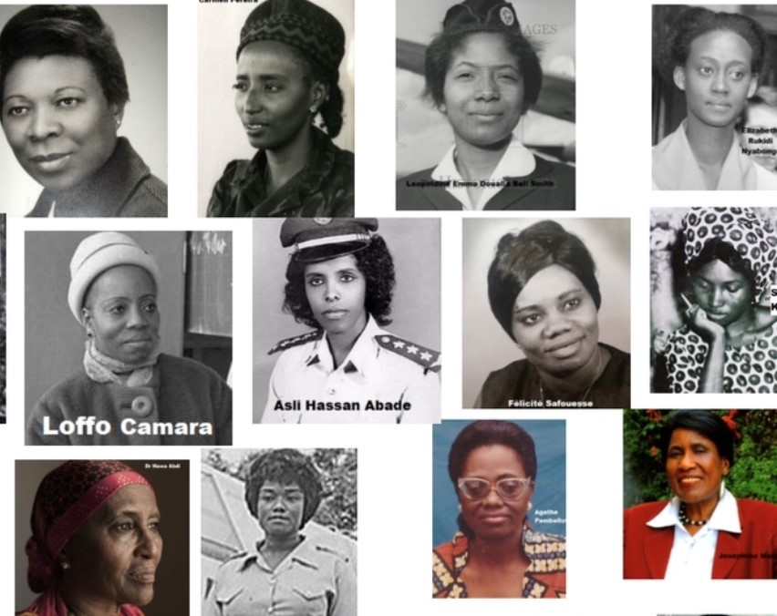 My African female pioneers from Sao Tome to Zimbabwe!