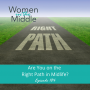 Artwork for EP #184: Are You on the Right Path in Midlife?