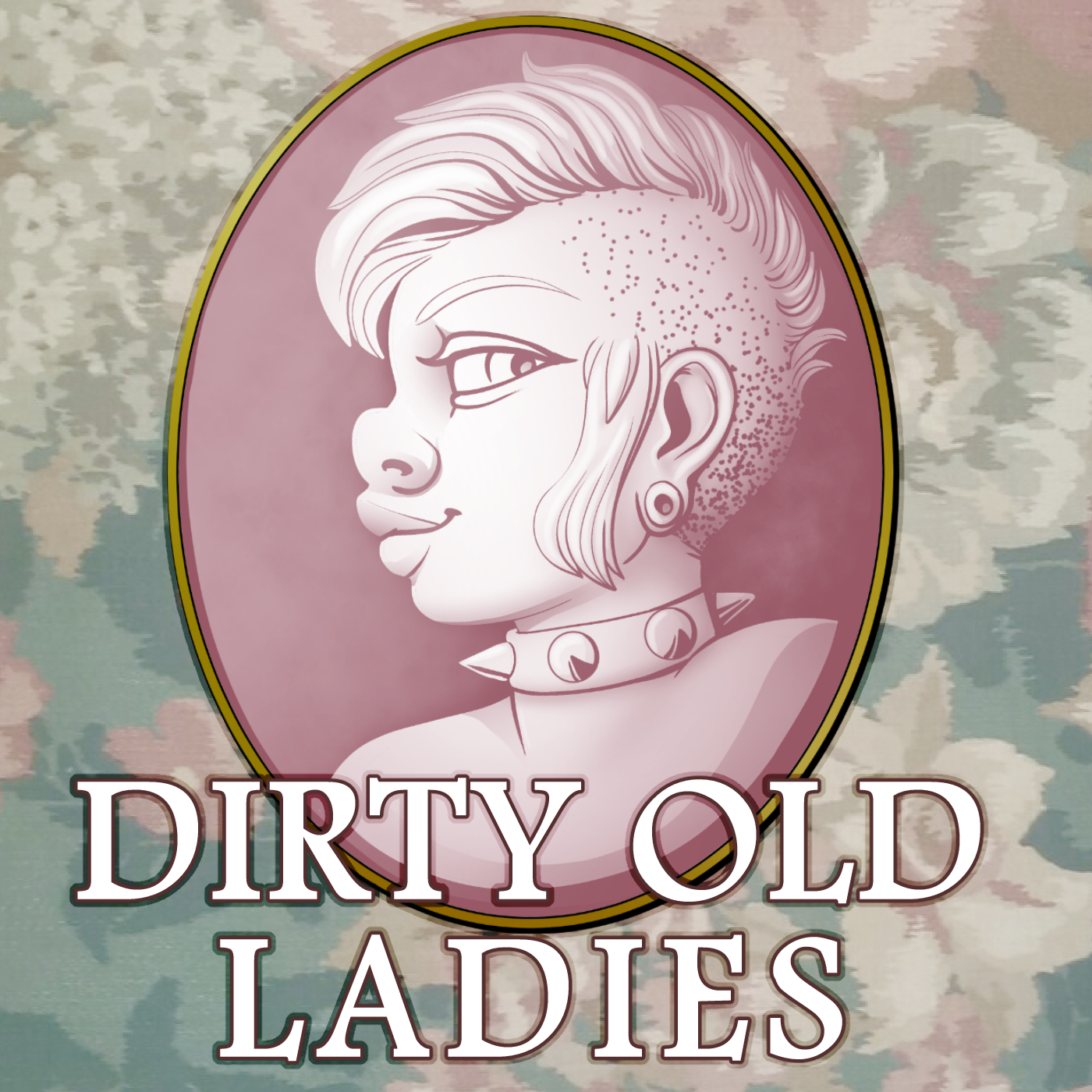 Dirty Old Ladies: The Podcast show art