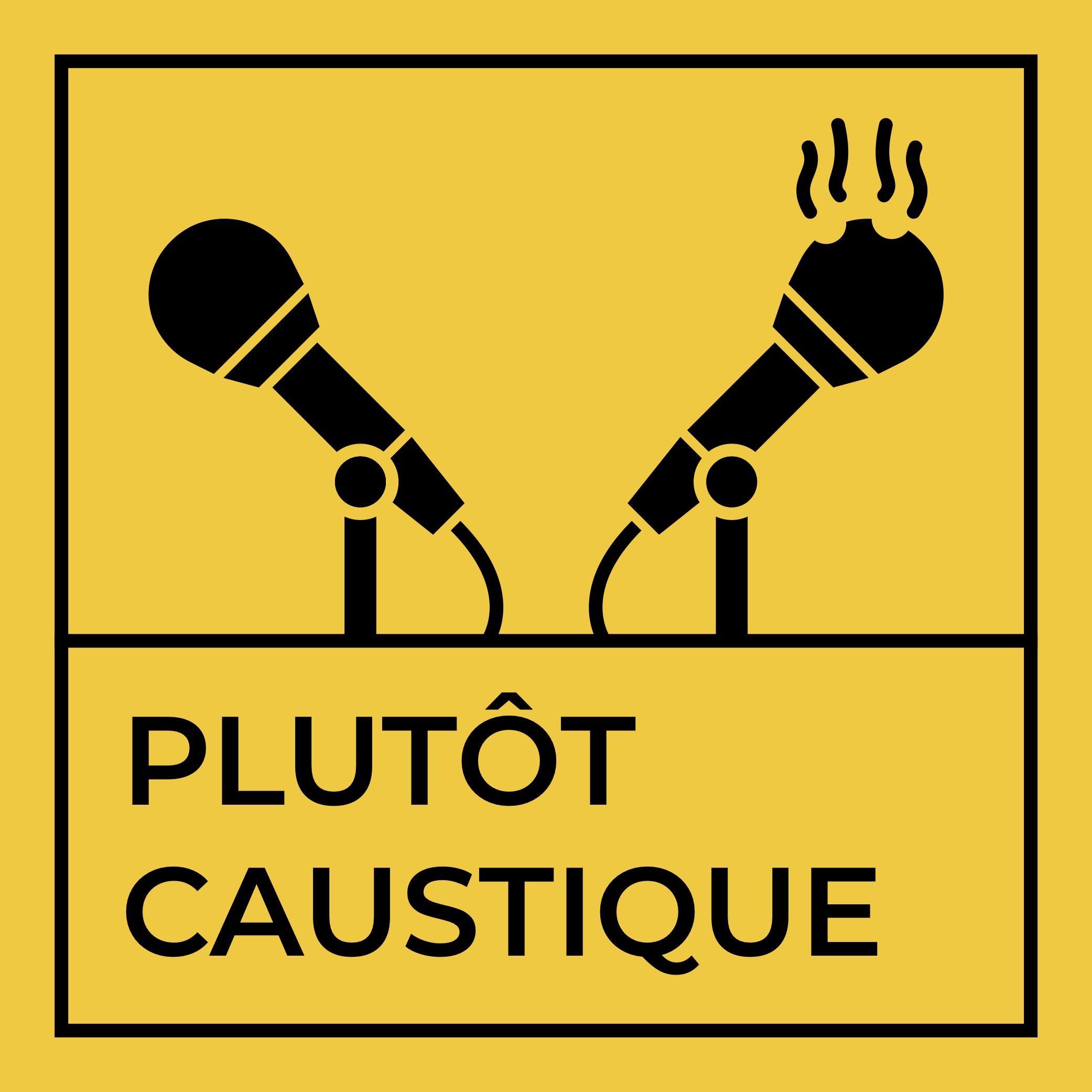 Plutôt Caustique show art