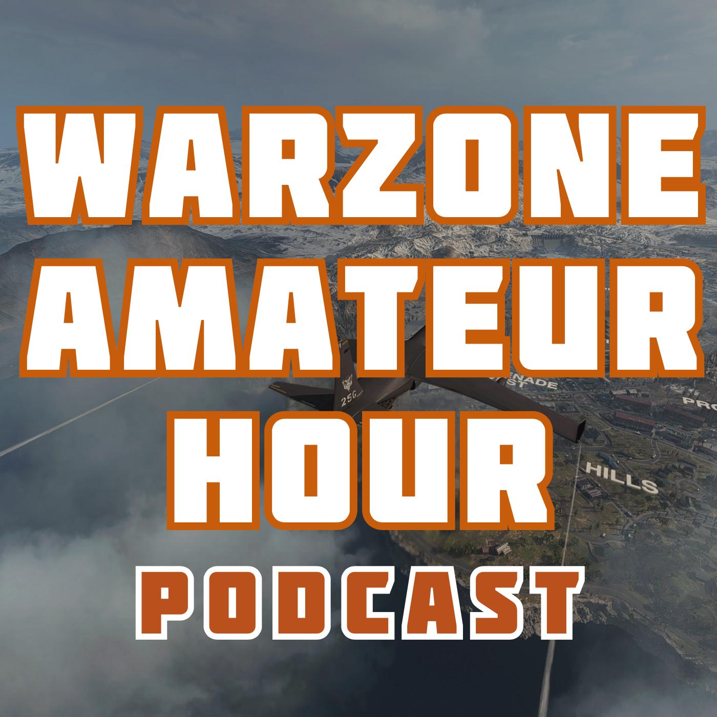 Warzone Amateur Hour Podcast show art