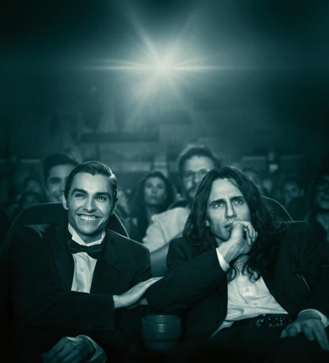 The Disaster Artist starring James Franco and Dave Franco