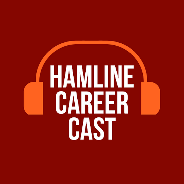 Hamline Career Cast show art