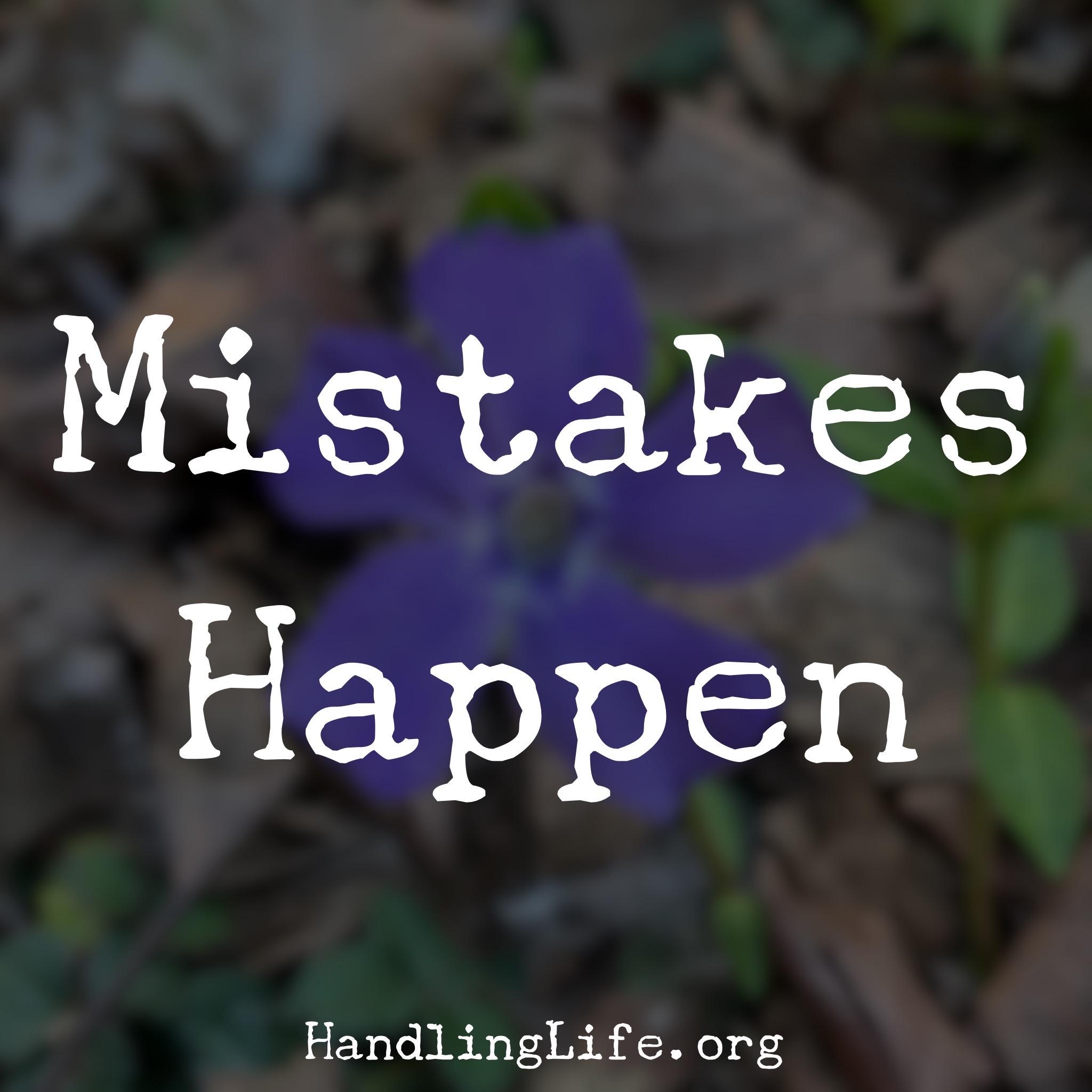 Artwork for Mistakes Happen