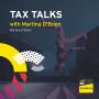 Artwork for #16 Tax Talks with Martina O'Brien