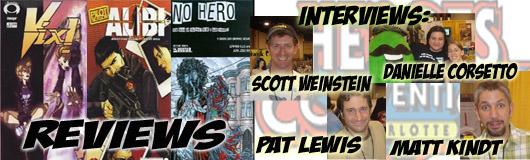 Episode 147 - Danielle Corsetto, Matt Kindt, Pat Lewis & Scott Weinstein