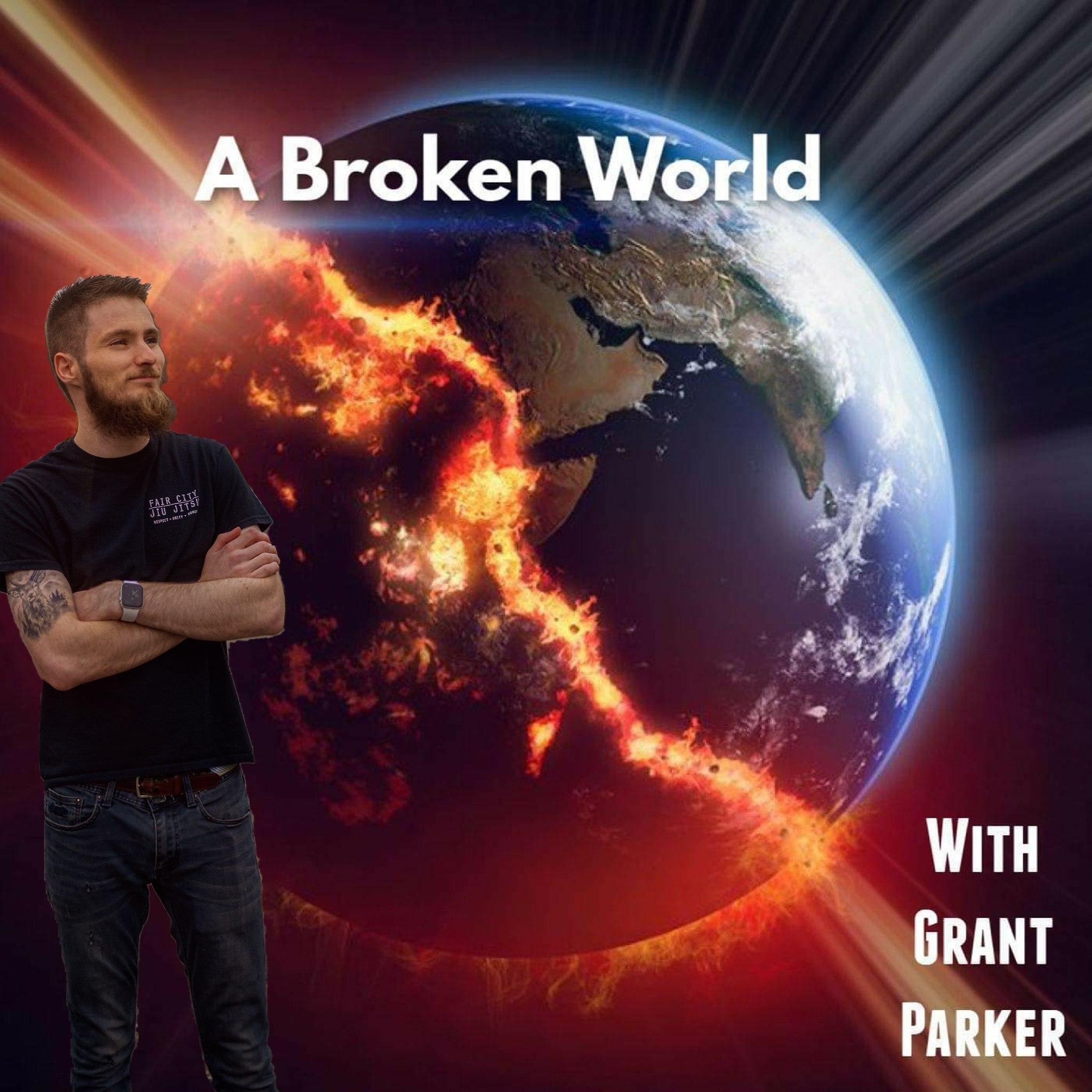 A Broken World show art
