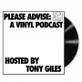 Artwork for Please Advise: A Vinyl Podcast - Episode 1 Andrew Cartmel