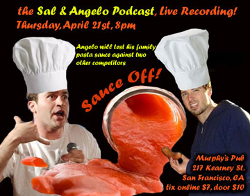 ep.56 Live Recording the Sauce Off! 4/21/11