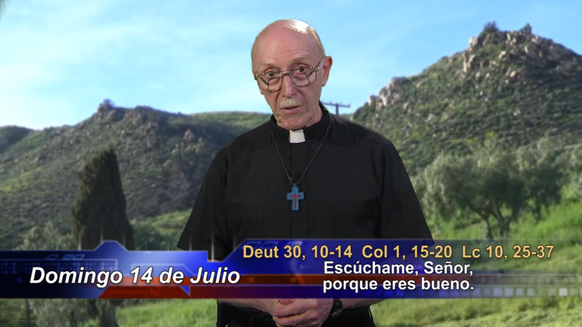 Artwork for Dios te Habla con Fr. Lenny de Pasquale;  El tema: Escúchame, Señor, porque eres bueno.