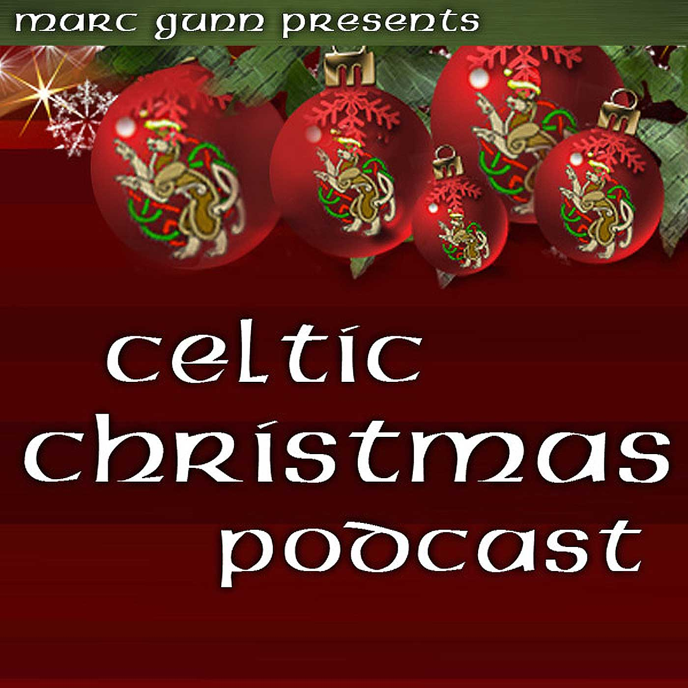 Celtic Christmas Podcast show art