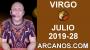 Artwork for HOROSCOPO VIRGO - Semana 2019-28 Del 7 al 13 de julio de 2019 - ARCANOS.COM