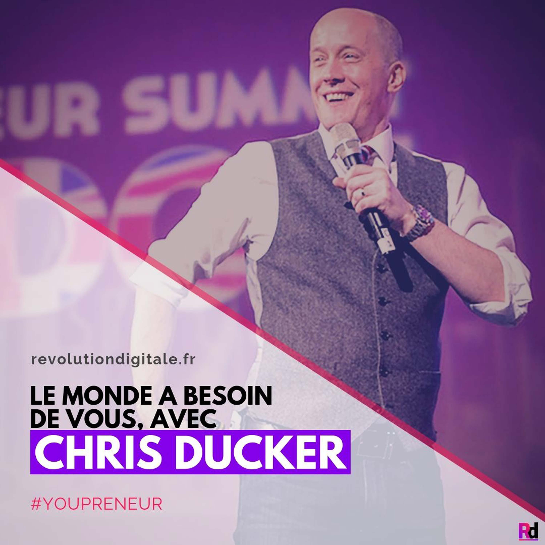 109. BONUS #5: Chris Ducker (Youpreneur.com): Le monde a besoin de vous !
