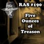 Artwork for RAS #190 - Five Ounces of Treason