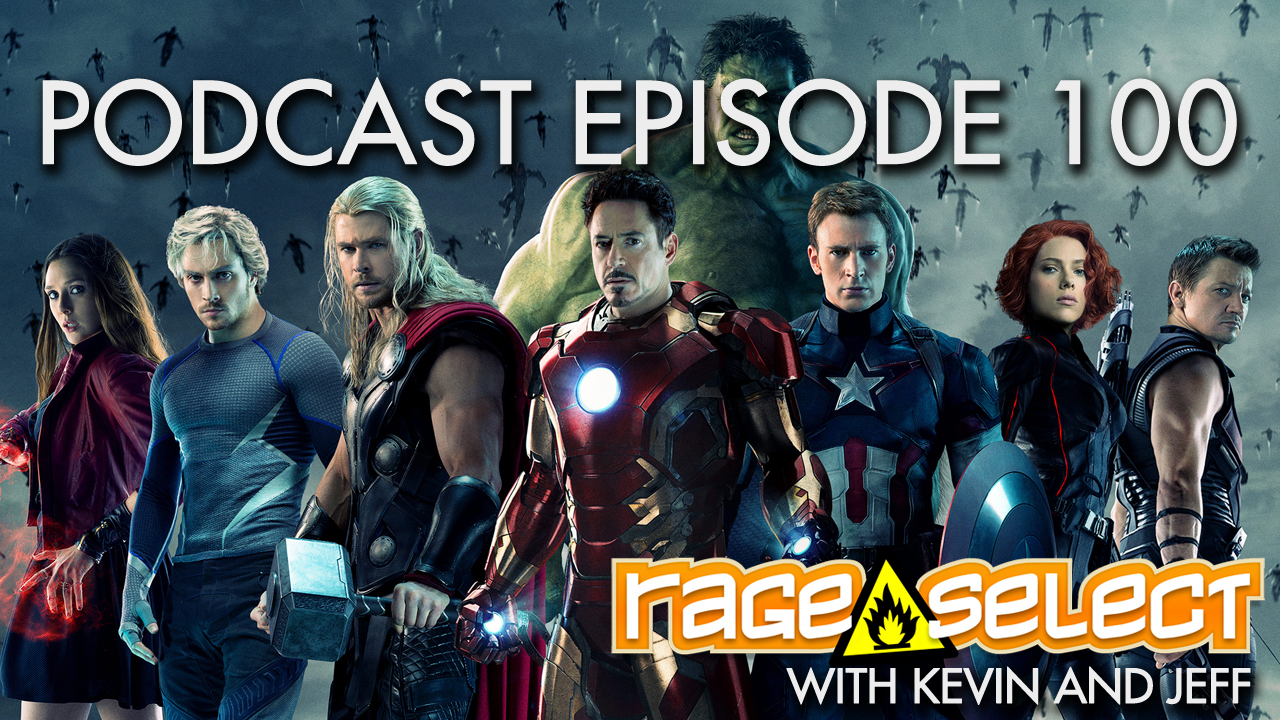 Rage Select Podcast Episode 100 - Kevin and Jeff answer your questions!