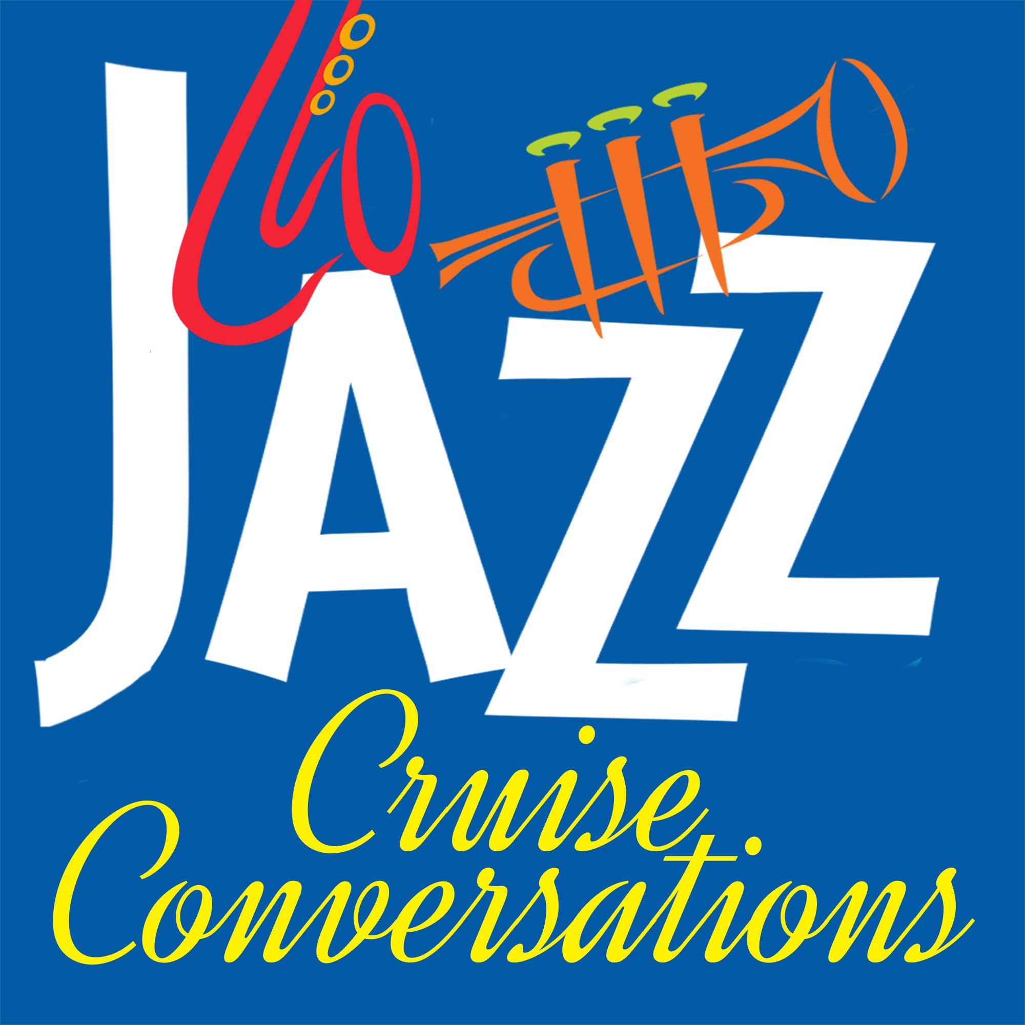 Jazz Cruise Conversations show art
