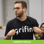 Artwork for #0043 - Navigating the Startup World with Aaron Froug of Grifin