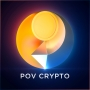 Artwork for POV Crypto Episode 10 - Hyperbitcoinization with Michael Taiberg of Bitcoin Magazine.