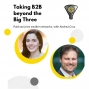 Artwork for Taking B2B beyond the Big Three: Running Paid Social on Smaller Networks with Andrea Cruz