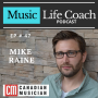 Artwork for Interview with Mike Raine of Canadian Musician Magazine