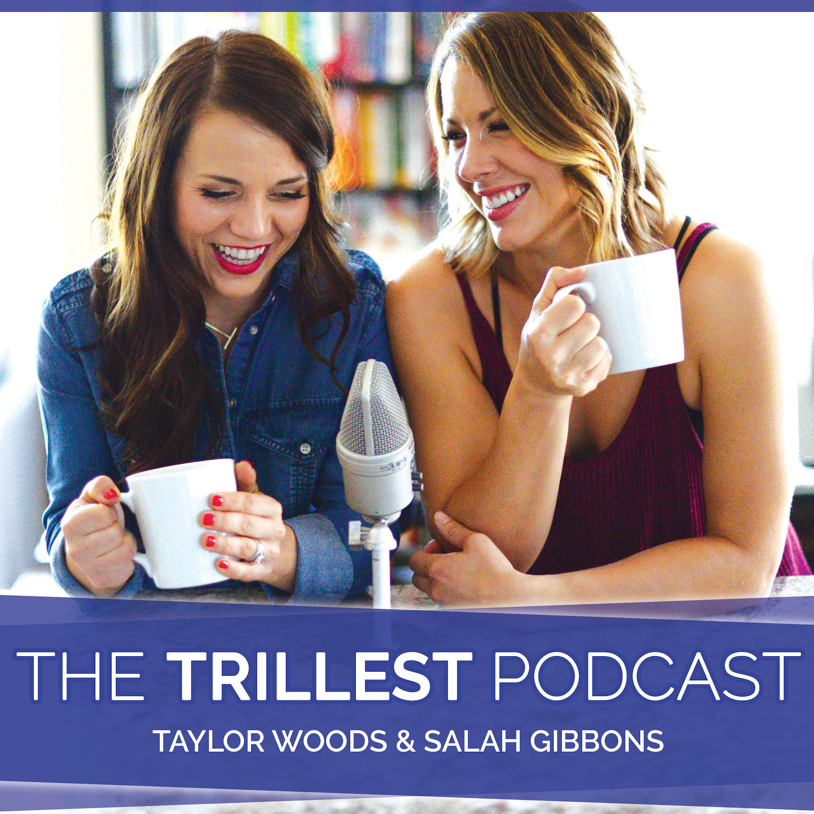The Trillest Podcast show art