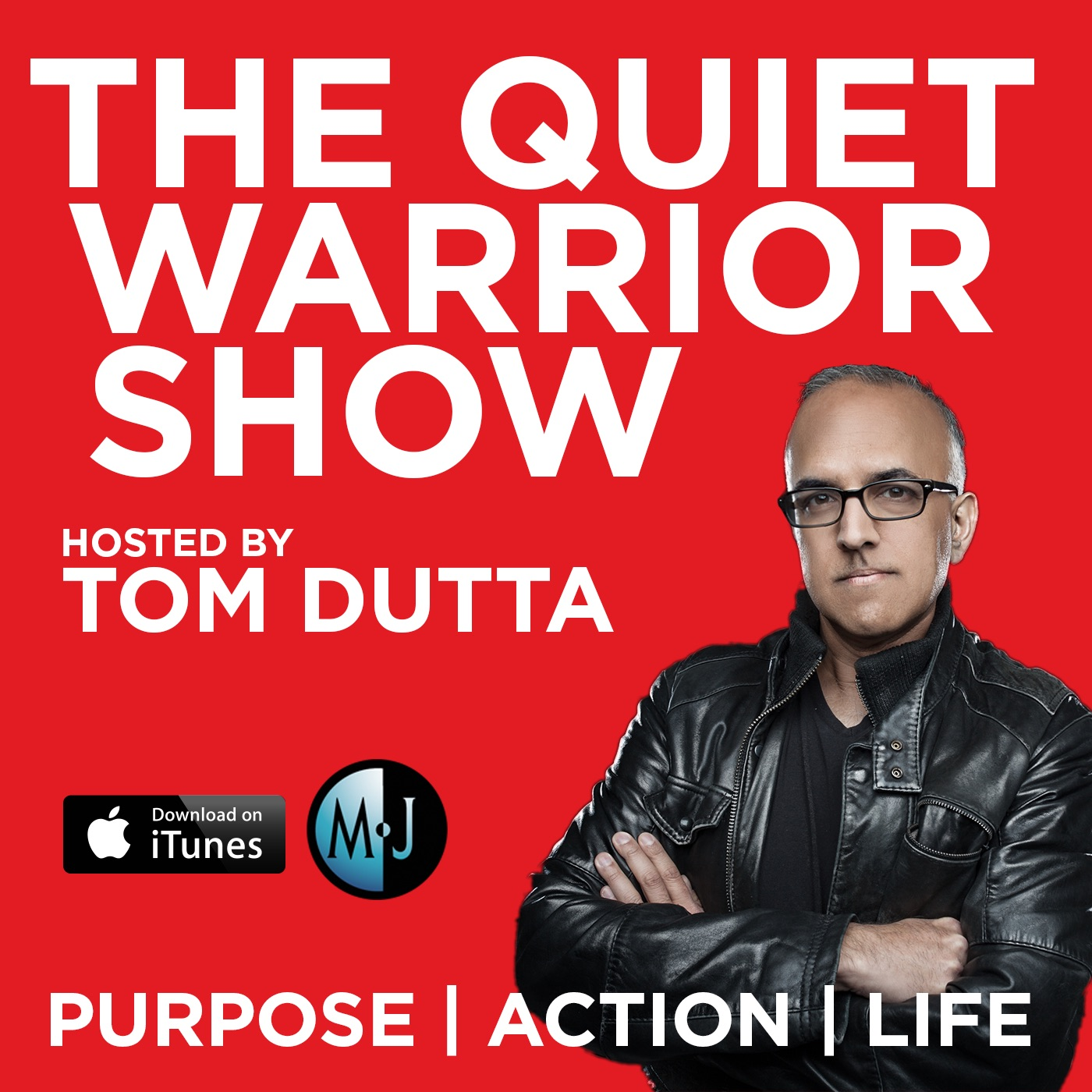 The Quiet Warrior Show show art