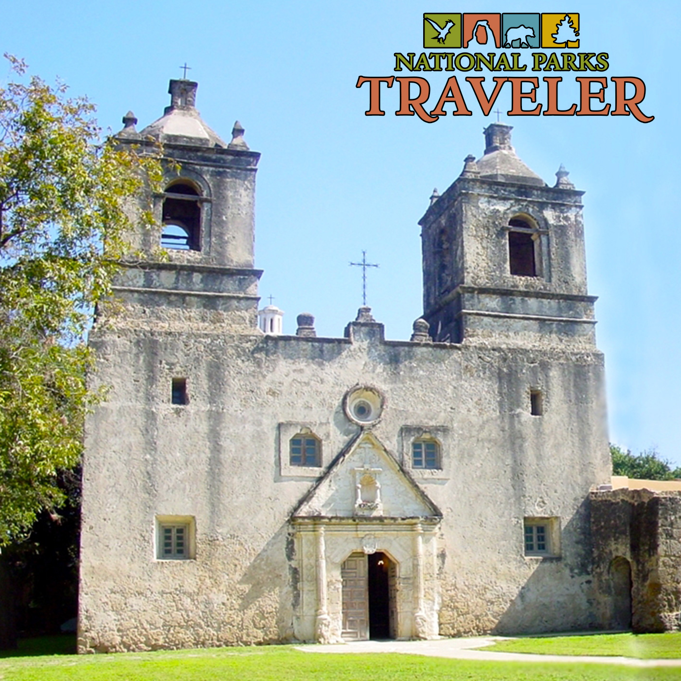 Artwork for National Parks Traveler: Mission Concepción In San Antonio, High-End Lodgings In The Parks