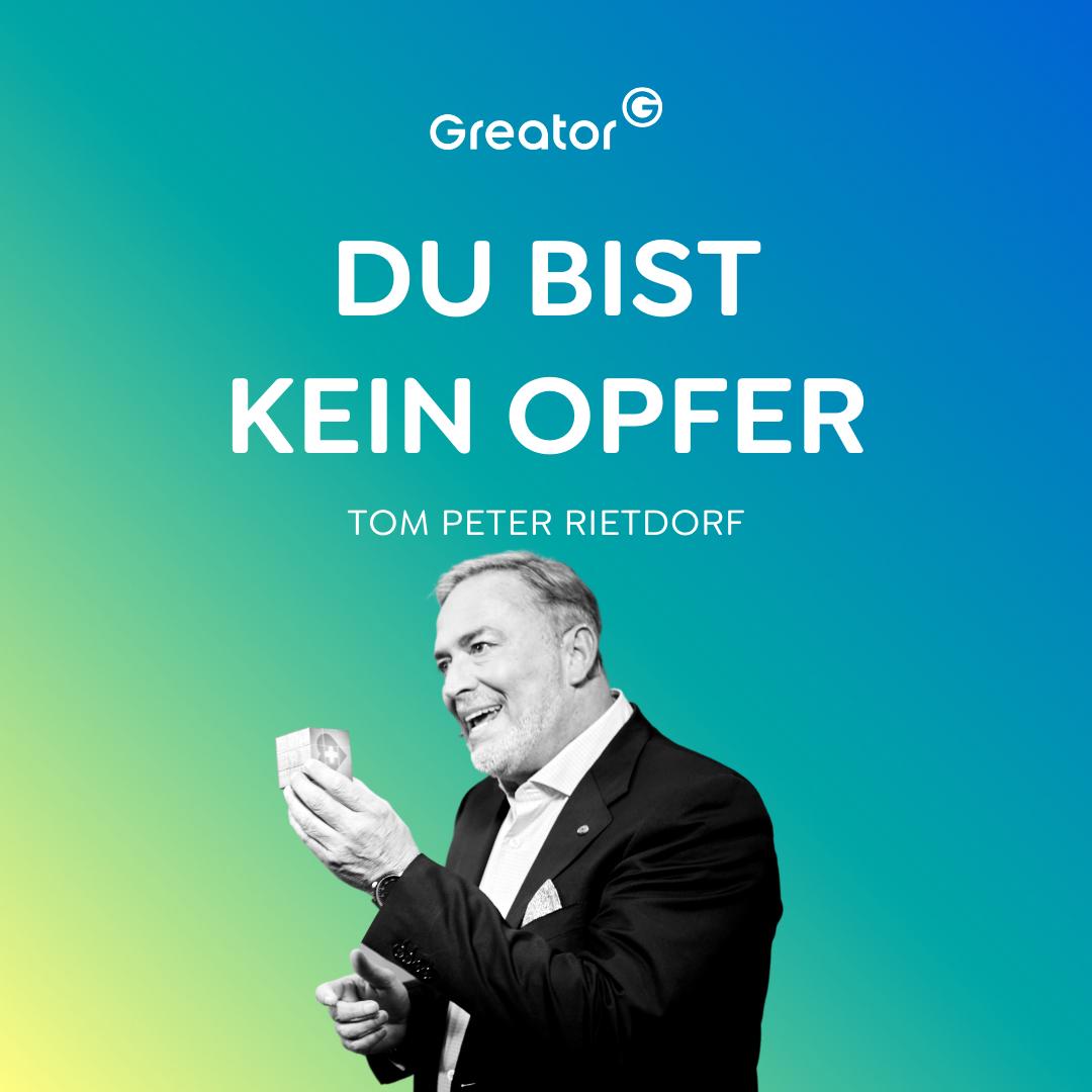 Lebenslust statt Frust: 6 Erkenntnisse für ein glückliches & erfülltes Leben // Tom Peter Rietdorf