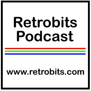 The Retrobits Podcast show art