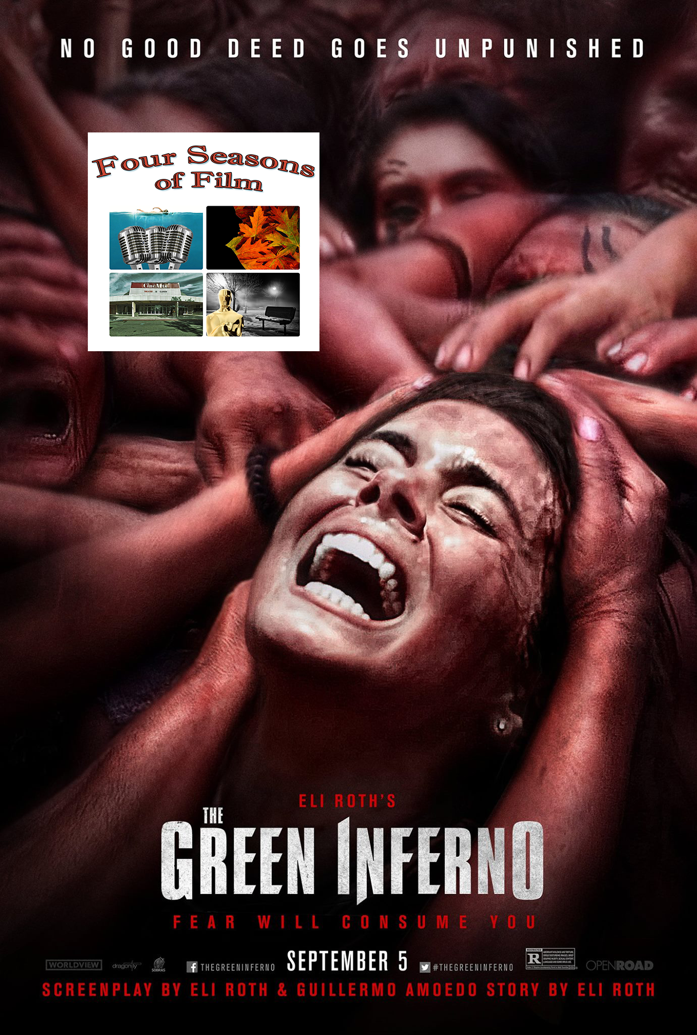 Artwork for Episode 10.04 - The Green Inferno