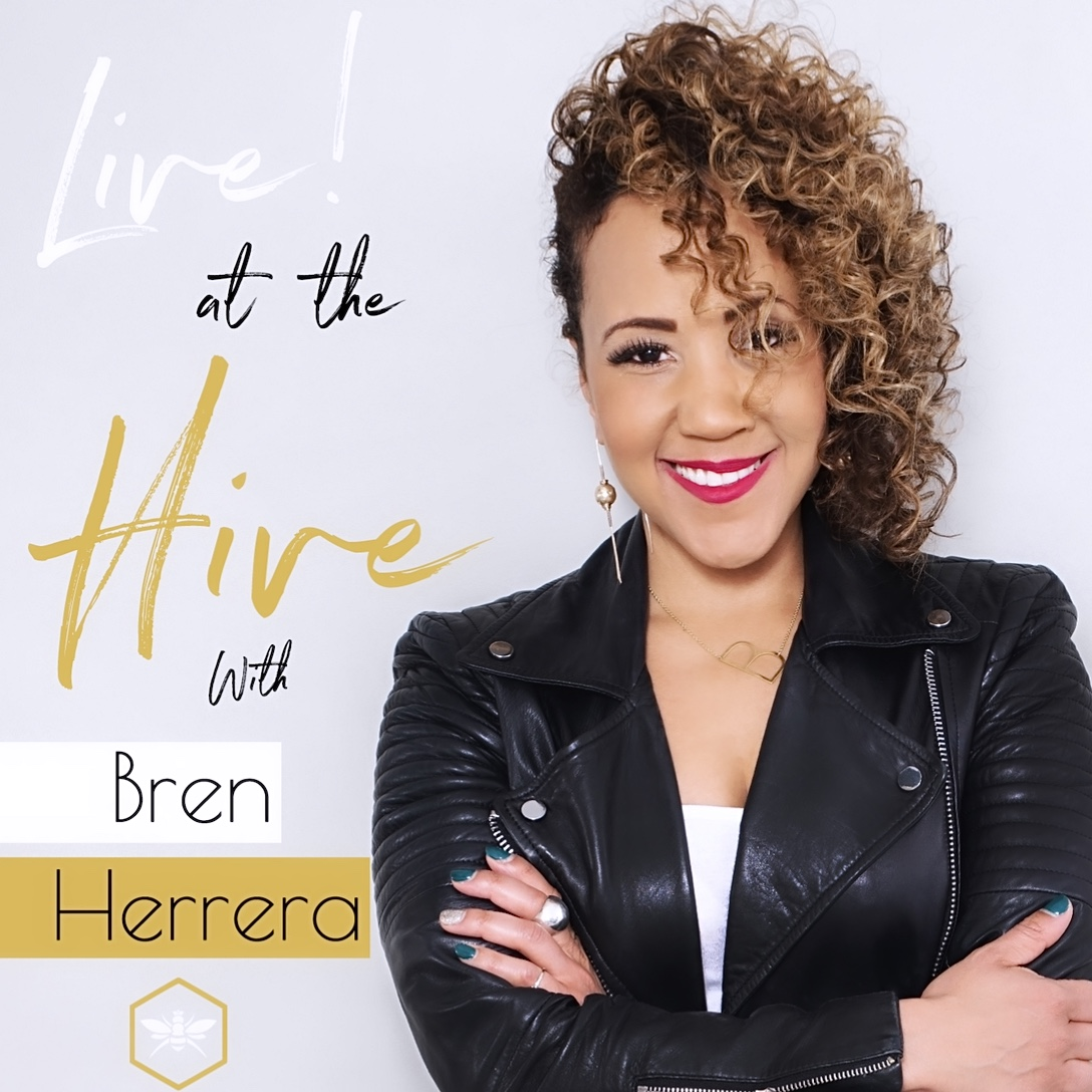 Live! at the Hive with Bren Herrera show art