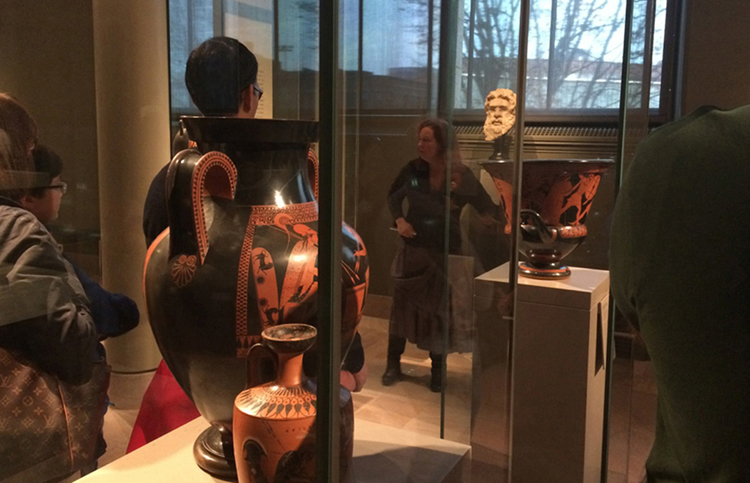 Polyphemos @MFABoston - the Story of Cyclops