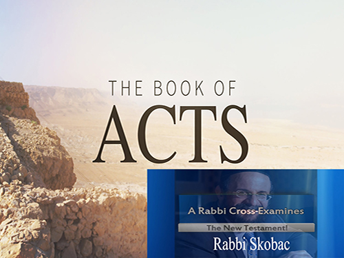 Artwork for Book of ACTS Chapter 28 with Rabbi Michael Skobac with host William Hall
