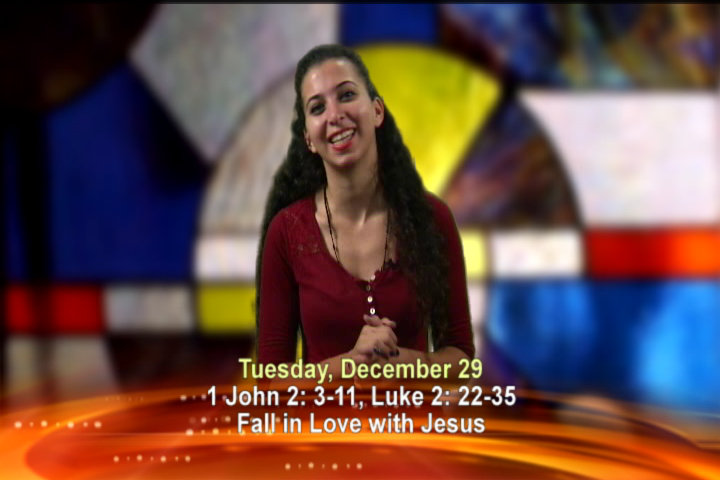 Artwork for Tuesday, December 29th Today's Topic:  Fall in love with Jesus!