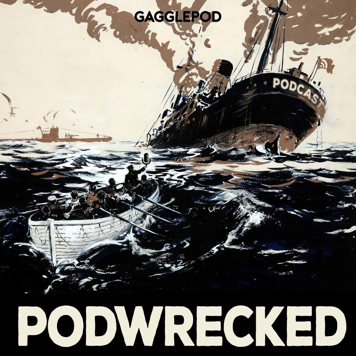 Podwrecked show art