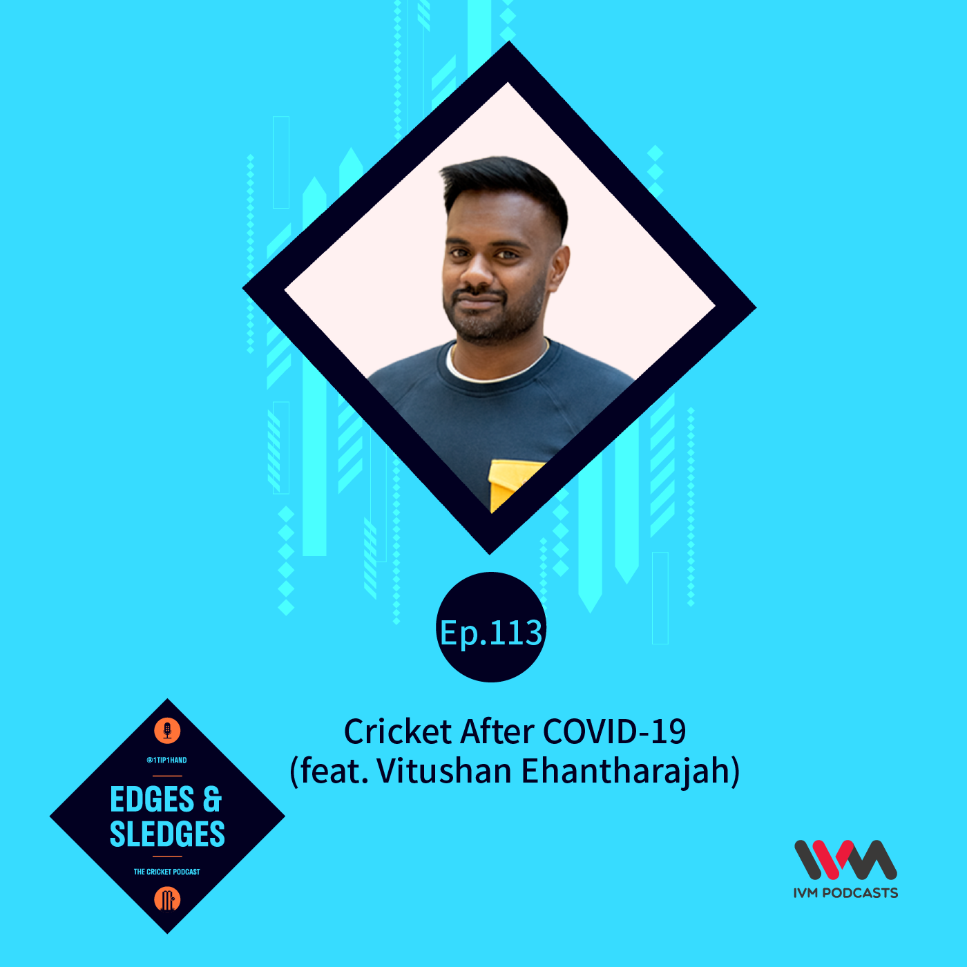Ep. 113: Cricket After COVID-19 (feat. Vitushan Ehantharajah)
