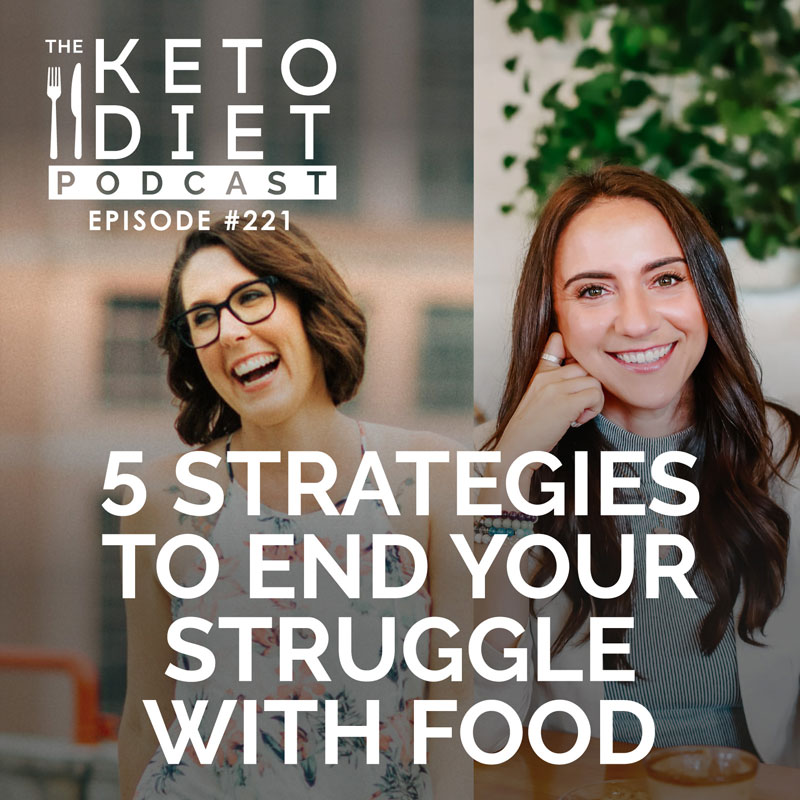 #221 The 5 Strategies to End Your Struggle with Food with Sarah Speers