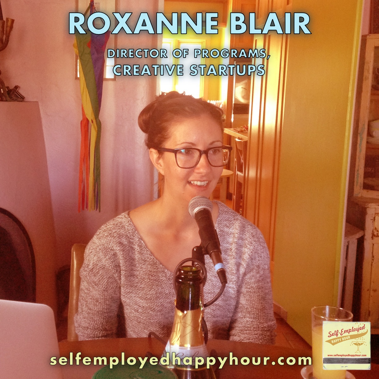Roxanne Blair, Director of Programs at Creative Startups