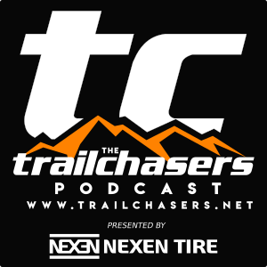 The TrailChasers Podcast show art