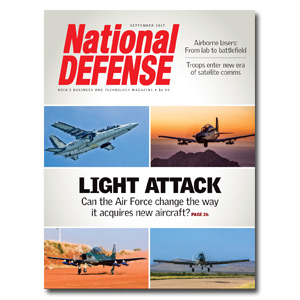 Artwork for September 2017 — Light Attack: Can the Air Force change the way it acquires new aricraft?
