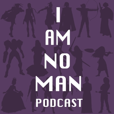 I AM NO MAN podcast show image