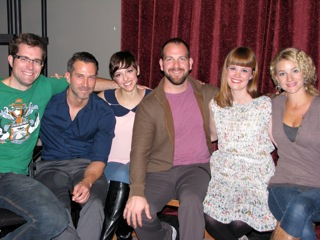 """Artwork for """"Talkin' With"""": The Cast of Stage West Calgary's """"I Love You Because"""""""