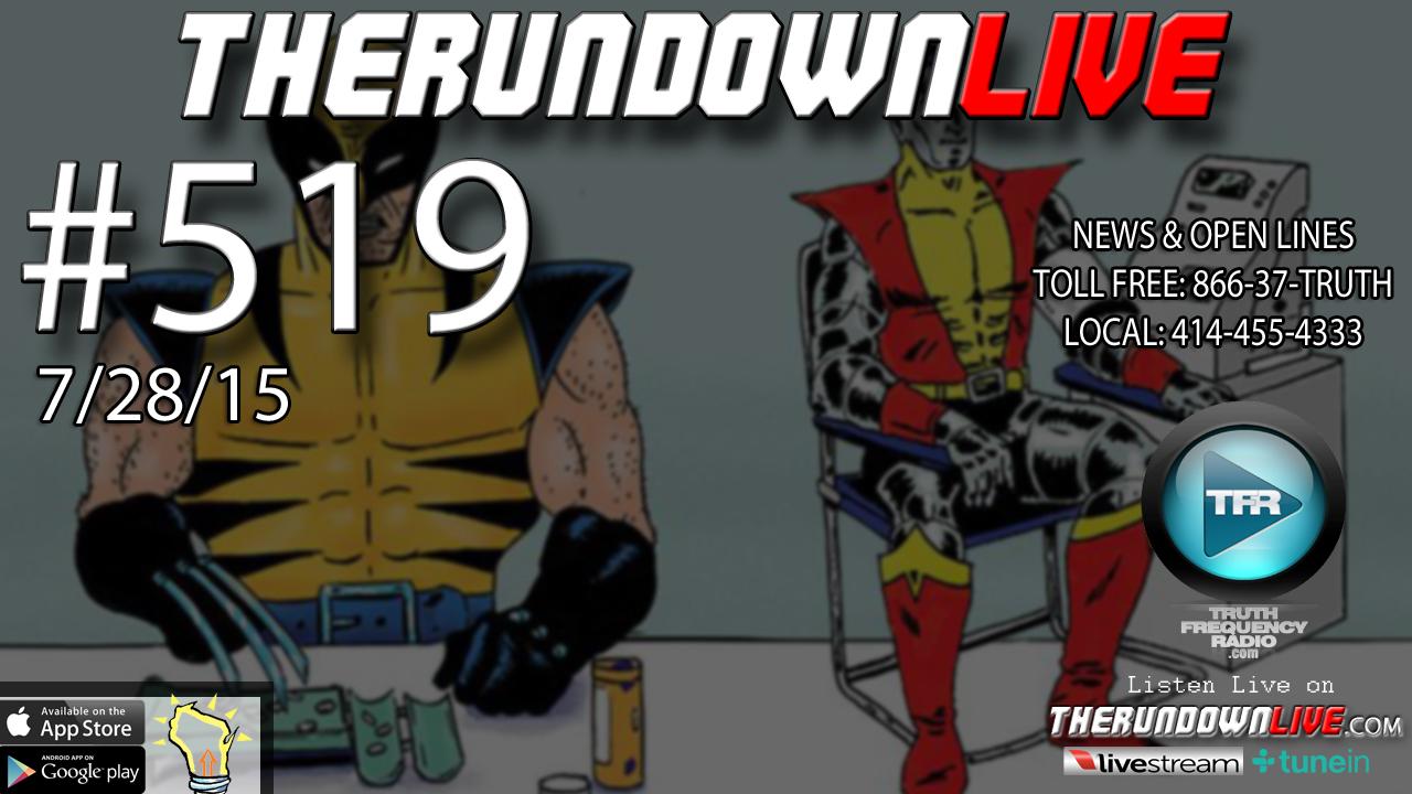 The Rundown Live #519 (Planned Parenthood,XMEN,AI Killer Robots)