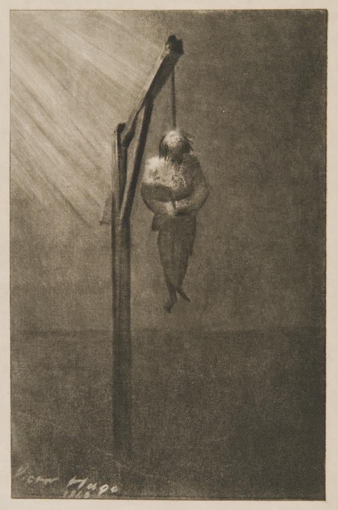 Victor Hugo, The Hanging of John Brown, 1860