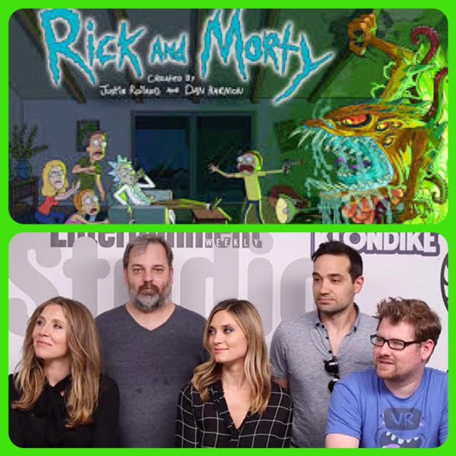 Episode 718 - SDCC: Rick and Morty w/ Justin Roiland/Dan Harmon/Ryan Ridley/Sarah Chalke/Chris Parnell/Spencer Grammer!