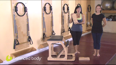Artwork for Pilates for Instructors : E65 : Functional Footprints® with the Chair