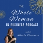 Artwork for Episode 6 - The importance of a happy gut and healthy hormones when running a business with Sheradyn Dekker